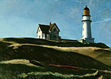 Light House Hill 1927 - Edward Hopper