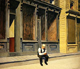 Sunday 1926 - Edward Hopper reproduction oil painting