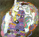 The Virgin (1913) - Gustav Klimt reproduction oil painting