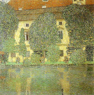 Schloss Kammer on the Attersee 3 (1910) - Gustav Klimt reproduction oil painting