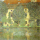 Schloss Kammer on the Attersee 3 (1910) - Gustav Klimt reproduction oil painting