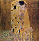 The Kiss (1907) - Gustav Klimt reproduction oil painting