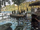 La Grenouillere - Claude Monet reproduction oil painting