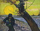 The Sower   Arles - Vincent van Gogh reproduction oil painting