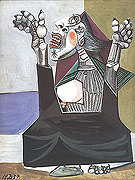 Woman Imploring (1937) - Pablo Picasso reproduction oil painting