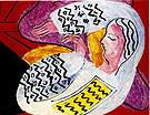 The Dream 1940 - Henri Matisse reproduction oil painting