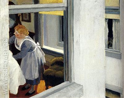 Apartment Houses 1923 - Edward Hopper reproduction oil painting