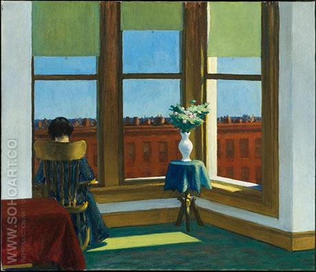 Room in Brooklyn 1932 - Edward Hopper reproduction oil painting
