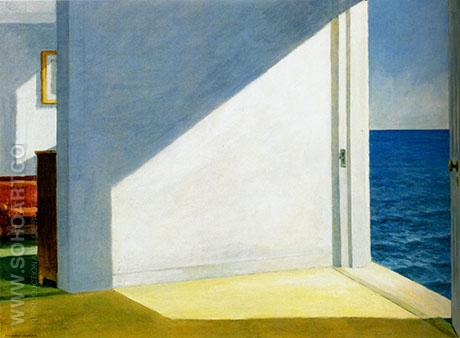 Rooms by the Sea 1951 - Edward Hopper reproduction oil painting