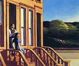 Sunlight on Brownstones 1956 - Edward Hopper