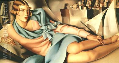 Arlette Boucard - Tamara de Lempicka reproduction oil painting