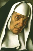 Mother Superior 1939 - Tamara de Lempicka reproduction oil painting