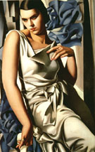 Madam M 1930 - Tamara de Lempicka reproduction oil painting