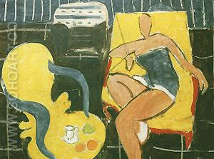 Dancer and Armchair 1942 - Henri Matisse reproduction oil painting