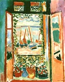 The Open Window at Collioure 1905 - Henri Matisse reproduction oil painting