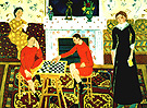 The Painter's Family 1912 - Henri Matisse reproduction oil painting