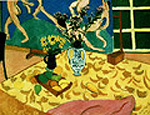 Still Life with Dance 1909 - Henri Matisse reproduction oil painting