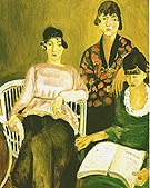 The Three Sisters 1917 - Henri Matisse reproduction oil painting