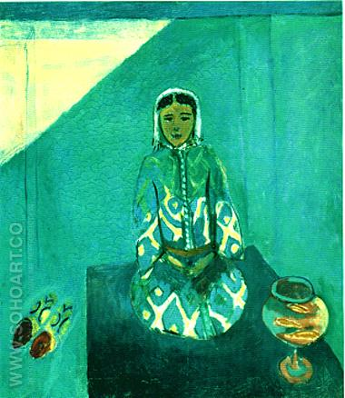 Zora on the Terrace 1912 - Henri Matisse reproduction oil painting