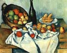 Still Life Basket of Apples - Paul Cezanne