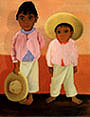 My Godfather's Sons 1930 - Diego Rivera