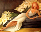 Portrait of Natasha  1943 - Diego Rivera