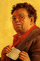 Self Portrait 1941 - Diego Rivera