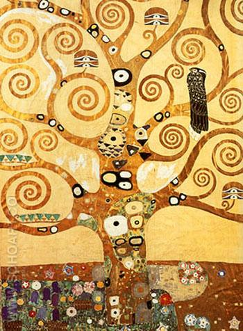 Tree of Life 1905-09 - Gustav Klimt reproduction oil painting