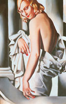 Portrait of Majorie Ferry - Tamara de Lempicka reproduction oil painting