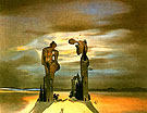 Archaological Reminiscence of Millet's Angelus 1935 - Salvador Dali