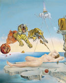Dream Caused by Flight of a Bee 1944 - Salvador Dali