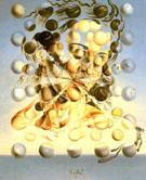 Galatea of the Spheres 1952 - Salvador Dali